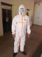 Isolation Gown,Protective Coverall,Non-woven Isolation Gown, Safety Disposable Isolation Suit