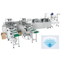 Full Auto Disposable face mask machine