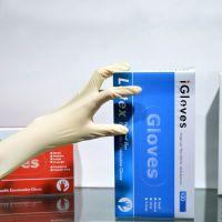 Nitrile Medical Gloves Powder Free EN455 EN374 Non Sterile Blue For Examination