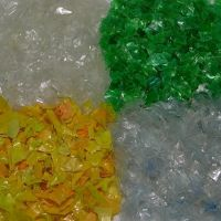 Hot Washed Recycled PET Flakes / Pet Bottle Plastic Scrap