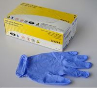 Disposable Nitrile Gloves / Nirtirle-Powder-Free-Medical-Gloves
