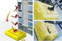 LION KING Inflated cushions, Air bag, rescue cushion, jumping cushions, safety cushion, Jumping bag, safety jump cushions