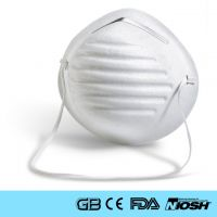 Makrite NIOSH N95 Flanged Edge N95 Respirator Disposable Fold Face Mask