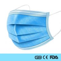Three Layers Disposable Medical Surgical Mask With CE ISO FDA SGS