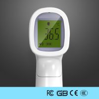 Medical Non-Contact Forehead Infrared Thermometer With Fever Alarm For Virus Avoid