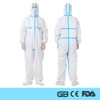 Disposable Coverall Medical Protective Suit PPE Isolation Clothing