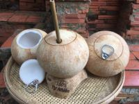 Fresh young coconut water