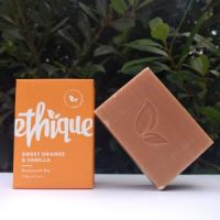 Ethique Sweet Orange & Vanilla Bodywash Bar 120g***Instant Shipping**
