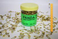 Panda Brass Safety Pins