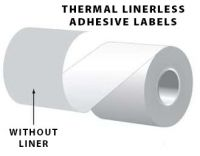 Thermal Linerless Adhesive Labels