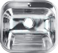 pressing single bowl stainless steel laundry sink