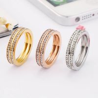 stainless steel diamond rings