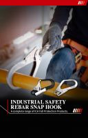 Aluminum Steel  Safety Rebar Snap  Hooks