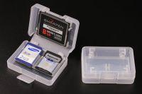 WEISHENG Muanfactuer Multi 4 Slots CF SD TF MMC Card Case Plastic Micr