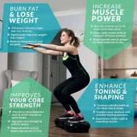 Exercise Machine Weight Loss Toning Waver Vibration Plate