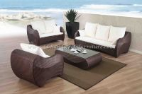 Wicker Furniture: Poly rattan sofa set   PRSF-094