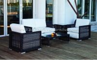 Wicker Furniture: Poly rattan sofa set   PRSF-082