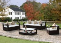 Wicker Furniture: Poly rattan sofa set   PRSF-092