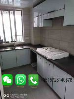 Custom Made Artificial Marble Kitchen Countertop, Bathroom Countertop On Sale