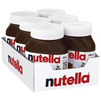 Ferrero Nutella Chocolate Spread in jars 350g, 400g, 600g, 750,800gr, 1kg and 5kg.