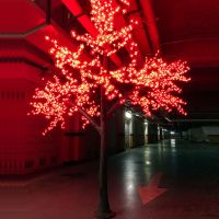 Artificial tree light suitable for the park the courtyard led light tree decorative lamp perfect