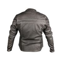 Ladies cow hide leather jacket