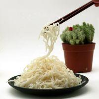 Wholesale Chinese style Shirataki low calorie pasta instant konjac soybean spaghetti pasta