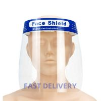 Stock Cheap Price FDA Plastic Clear Dental Protective Visors Full Transparent Face Shield