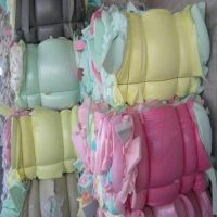100% Clean foam waste PU scrap foam in bales