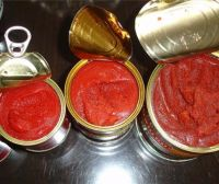 Wholesale Organic Canned tomato paste 198gx48cans/ carton