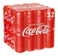 COCA COLA IN CANS - 24X33CL/ Coca-cola Carbonated Drinks 320ml x 24