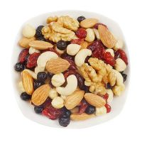 Roasted Mixed Kernels Nuts And Raisins Dried Fruits Snacks