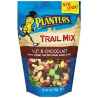 Food grade plastic packaging bag for trail mix