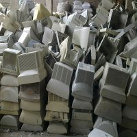 ABS plastic scrap for Roller brush making for sale