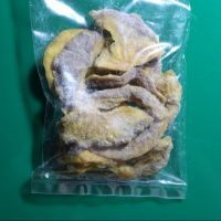 Dried and natural guava fruit cut