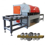 Wood Gang Rip Saw Machine, Log Multi Blade Saw Machine