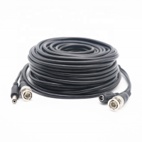 New Product 30M/98.4ft 2 in 1 Video BNC and DC Connector Cable CCTV 2MP/5MP AHD/TVI/CVI/CVBS Camera System Accessories