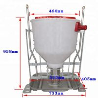 Animal automatic wet-dry feeder for pig farm equipment