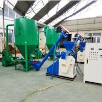 small business plan small poultry animal feed pellet processing plant project for uses feed pellet production line