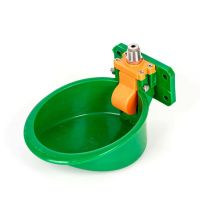 Automatic Livestock Pig Sheep Cattle Drinking Bowl Plastic Animal Drinker Family Farming