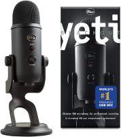 Yeti USB Microphone Blackout Edition