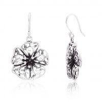 Sterling Silver White Blossom Earring- Beautifully Design- Custom Design