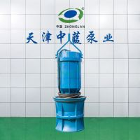 Submersible axial-flow pump