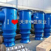 Coupling axial-flow pump