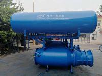 Buoy axial-flow pump
