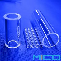 Laboratory Heat Resistence Fused Quartz Glass Tube