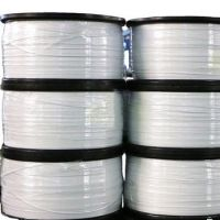 PP double-core double side white nose clip wire Polypropylene Iron