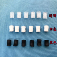 silicone loop holder zinc plated white black
