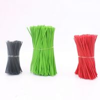 PP double-core Twist ties 8.0*0.7mm for daily packing tin tie rolls
