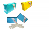 CE/USFDA (LYY) APPROVED EXAMINATION GLOVES (LATEX POWDER FREE/ POWDERED)